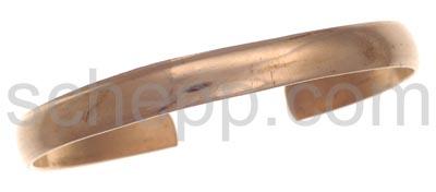 Armspange aus Kupfer, Kupferschmuck