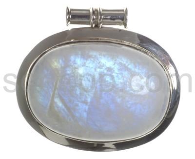 Großer Mondstein-Anhänger Silber - mit garantierter Wirkung auf alle Betrachter :)