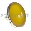 Ring, Karneol, oval