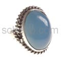 Ring, Chalcedon, oval
