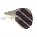 Siegelring mit Onyxstreifen, oval