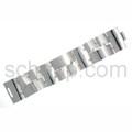 Gliederarmband aus quadratischen Silberplatten