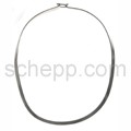 Halsspange, 5 mm , oval