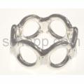Ring aus Silberdraht, Kreise