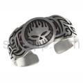 Tattoo-Armspange Totenkopf, Tribal Design
